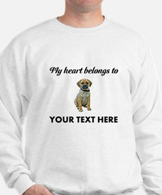 Personalized Puggle Sweatshirt