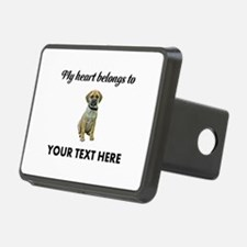 Personalized Puggle Hitch Cover