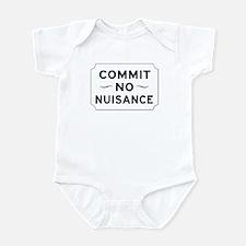 Commit No Nuisance, London, UK Infant Bodysuit