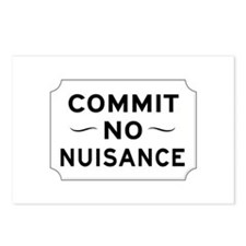 Commit No Nuisance, Londo Postcards (Package of 8)