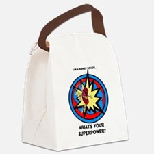 Super Donor Canvas Lunch Bag