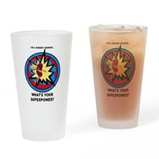 Super Donor Drinking Glass