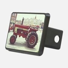 Tractor on the Town Square Hitch Cover
