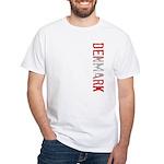 Denmark White T-Shirt