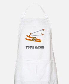 Skis (Custom) Apron