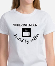 Superintendent Fueled By Coffee T-Shirt