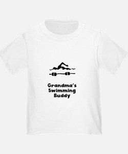 Grandmas Swimming Buddy T-Shirt