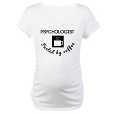 Psychologist Fueled By Coffee Shirt