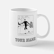Cross Country Skier (Custom) Mugs