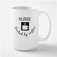Nurse Fueled By Coffee Mugs