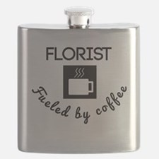 Florist Fueled By Coffee Flask