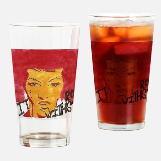 Cool Amanda Drinking Glass