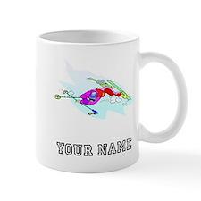 Skier Wipeout (Custom) Mugs