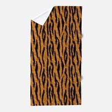 Animal Print TIGER Beach Towel