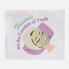 Foundation Of Youth Throw Blanket