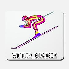 Ski Racer (Custom) Mousepad