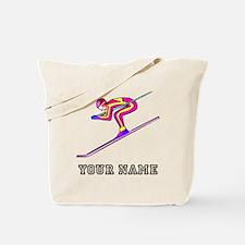 Ski Racer (Custom) Tote Bag