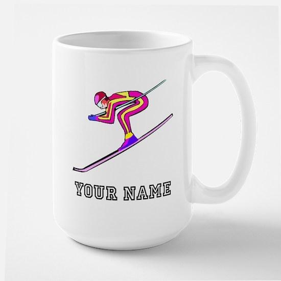 Ski Racer (Custom) Mugs