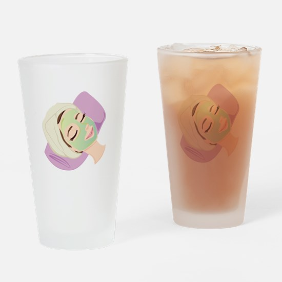 Facial Treatment Drinking Glass