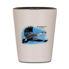 Blue-Winged Goose Shot Glass