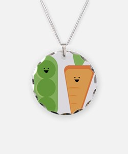 Carrots & Peas Necklace