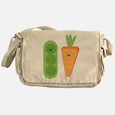Carrots & Peas Messenger Bag