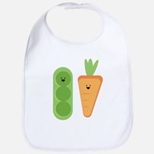Carrots & Peas Bib