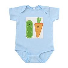 Carrots & Peas Body Suit