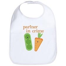 Partner In Crime Bib