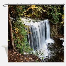 Rain Forest Waterfall Shower Curtain