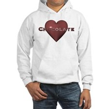 Chocolate Love Heart Hoodie