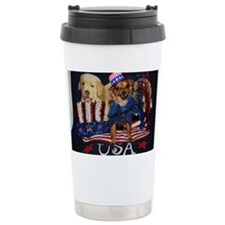 Patriotic Pooch Travel Mug
