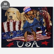 Patriotic Pooch Puzzle
