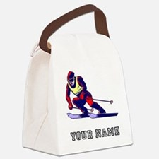 Ski Racer (Custom) Canvas Lunch Bag