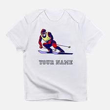 Ski Racer (Custom) Infant T-Shirt