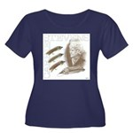 Carrie Stevens Gray Ghosts Plus Size T-Shirt