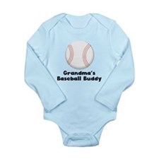 Grandmas Baseball Buddy Body Suit