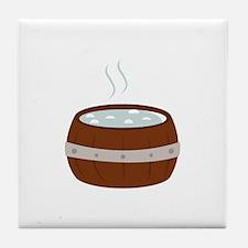 Hot Tub Tile Coaster
