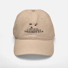 FE FI FO FUM WE SPILL THE BLOOD OF TERRORIST SCUM