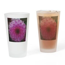 Funny Dahlia Drinking Glass