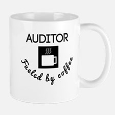 Auditor Fueled By Coffee Mugs