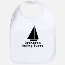 Grandpas Sailing Buddy Bib