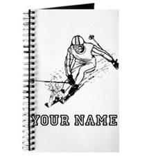 Skier Racing (Custom) Journal
