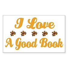 I Love A Good Book Decal