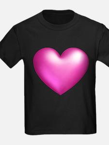 Pink Balloon Hear T-Shirt