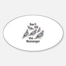 Messenger Pigeon Decal