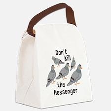 Messenger Pigeon Canvas Lunch Bag
