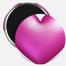 Pink Balloon Heart Magnets