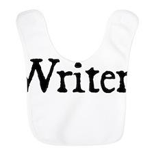 Writer Black Text Bib