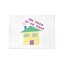 Mi Casa  5'x7'Area Rug
